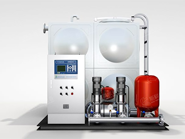 无负压供水设备的基本原理以及无负压供水设备的运作