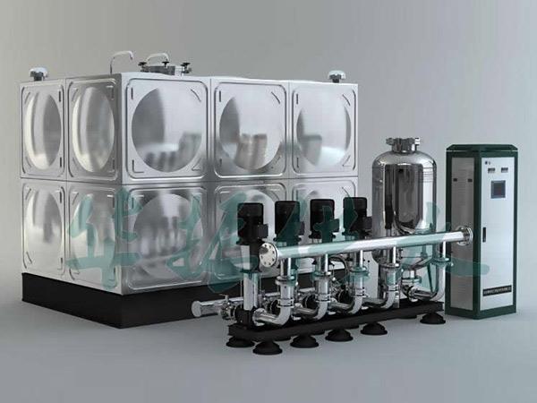 无负压供水设备一些需要细致处理的地方